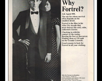 """Vintage Print Ad November 1964 : Celanese Fortrel """"Why Fortrel?"""" Advertisement Color Wall Art Decor 8.5"""" x 11"""""""