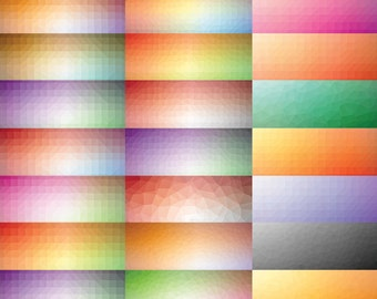 Polygon pattern, low poly, polygon, Geometric, triangle digital paper background