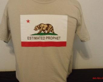 "Mens Grateful Dead shirt. Grateful Dead Shirt ""Estimated Prophet"" California Republic takeoff."