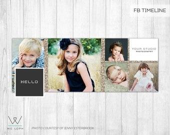 Facebook Timeline Cover - Facebook Timeline Template for Photographers  INSTANT DOWNLOAD SKU:FT006