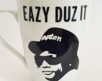 Eazy E - Eazy Duz It - Classic Hip Hop - Rap -  Mug