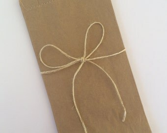 Kraft paper bag. Lolly/candy/treat bag for baby/bridal shower, wedding, engagement party, birthday,1st birthday. Brown paper bag. Set of 25.
