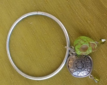 Caribbean bracelet with charms
