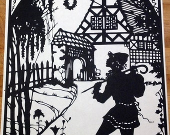 Lotte Gützlaff Country Cottage Paper Cutting