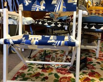 Canvas Sailboat Lawn Chairs
