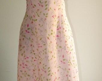 Vintage 1990's Formal Maxi Dress