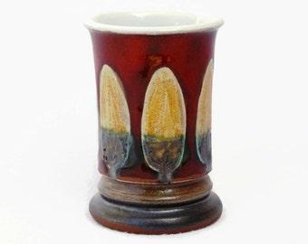 Pottery Mug. Small Mug, Pottery Tumbler, Ceramic Mug, Danko Pottery, Cute Mug, Unique Mug, Hand Thrown Mug, Pottery Gifts