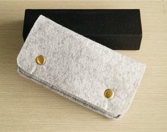 Burgundy Leather iPhone 6 Sleeve , iPhone Case , iPhone 7 Plus Pouch , iPhone 6 Case, iPhone 7 Sleeve , iPhone 6 , Phone sleeve 5s #225