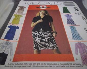 2002 McCall's 3588 Sewing Pattern, Dress & Jacket, Sz. 10-16, Cut
