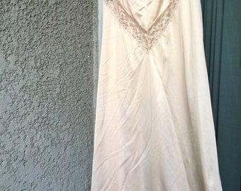 Blush slip dress