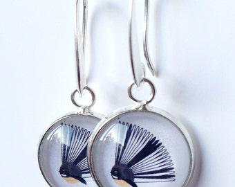 Fantail - Kiwiana Earrings