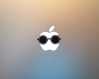 Vintage Dior Shades Macbook Decal / Sunglasses Macbook Pro Sticker