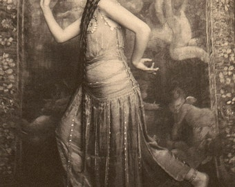 "Frank Eugene photo - ""Fritzi von Derra, Oriental Dancer"" 1900"
