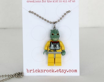 Bossk - LEGO® Minifigure Necklace - Jewelry made with LEGO® pieces