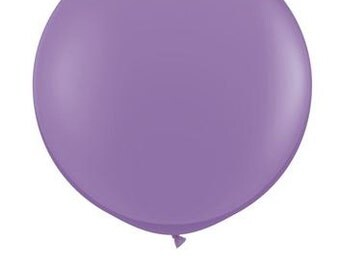 """36"""" Round Solid LILAC Color Balloon"""