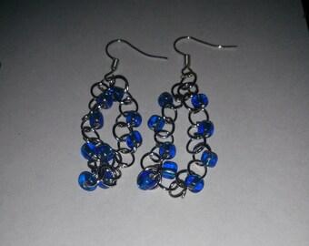 Jump ring earrings