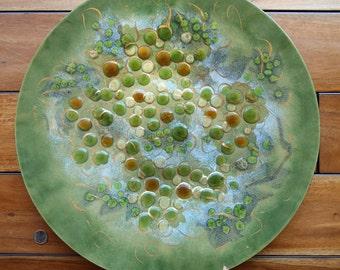 Rare Vintage Large Sascha B (Sascha Brastoff) Plate Platter Wall Hanging