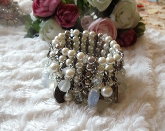 Statement bracelet wide Barcelet