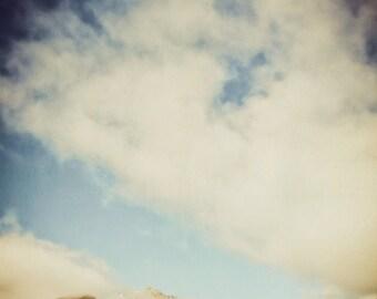 Mountain Photography, Mountain Landscape, Mountain Decor, Clouds, Travel Print, Landscape Photography, Wall Art, Fine Art Photography