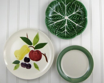 decorative plates kitchen wall decor vintage by