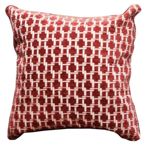 Items similar to Red Velvet Decorative Pillows 26