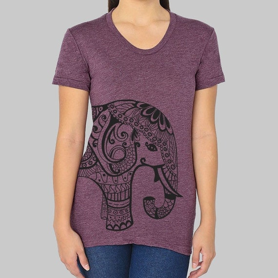 American apparel elephant graphic tee womens by for Elephant t shirt women s