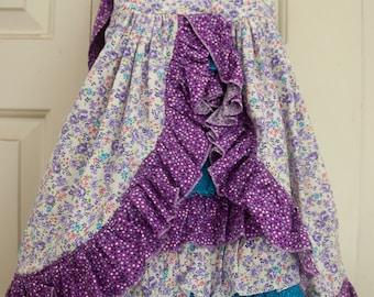 Purple floral Sundress (3T)