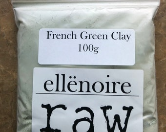 French Green Clay - 100g