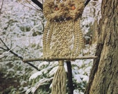 Vintage Macrame Pattern 1970s to make A Large Owl Tree Garden or Room Hanging by A PDF for Immediate Digital Delivery