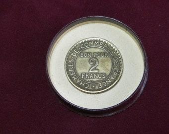 Pi ces de collection et vieux billets de banque par for Chambre de commerce de france bon pour 2 francs