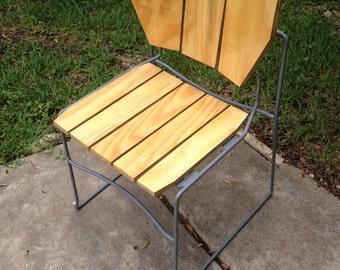 Plywood Back Tilt Chair