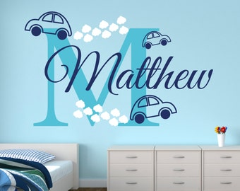 Cars Wall Decal Etsy - Vinyl decals for walls etsy