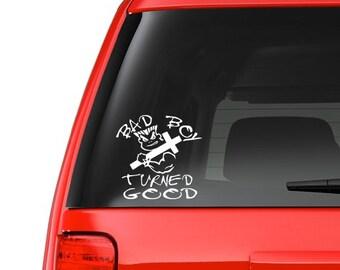 Bad Boy (R3) Vinyl Decal Sticker Car/Truck Laptop/Netbook Window