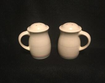 Pfaltzgraff Aura Salt and Pepper Shakers - Vintage