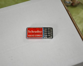 Schrader valve cores - complete box of 5.