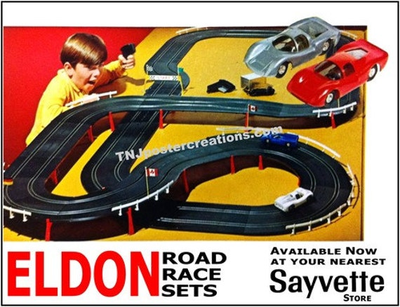Old Slot Cars Sets