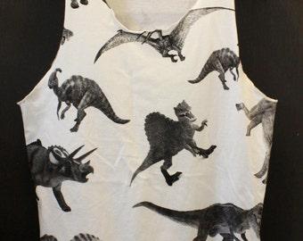Dinosaur Tanktop Funny Dinosaur Shirt  Jurassic Graphic shirt