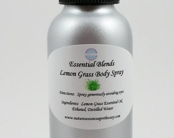 Lemongrass Body Spray