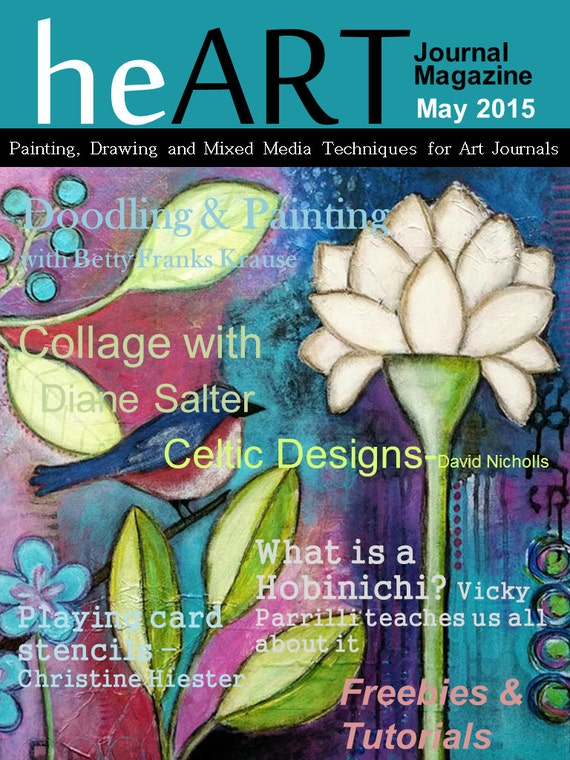 heART Journal Magazine May 2015 issue digital download only