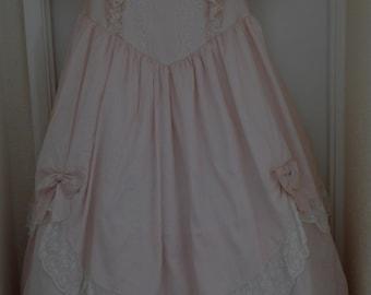 Pink Pronuptia Raw Silk Wedding dress
