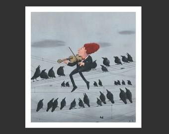 Giclee, FineArtPrint »Im Konzert«