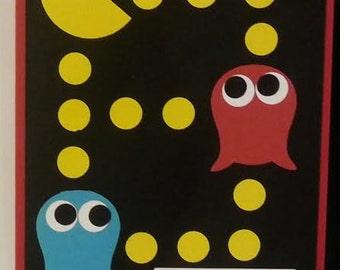 Handmade Pacman Birthday Card