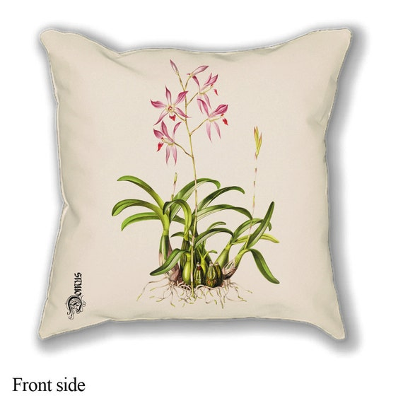 Items similar to Vintage botanical prints - Throw pillow covers - Premier prints - Decorative ...