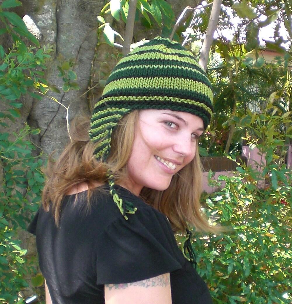 Knitting PATTERN, Ear flap beanie pattern - easy WINTER ...