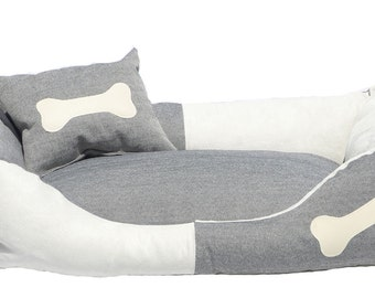 Dog Bed Marlon denim