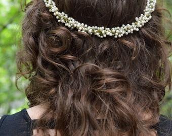 Headpiece, Jardin Wreath