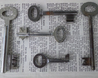 Old Berlin key set vintage #2