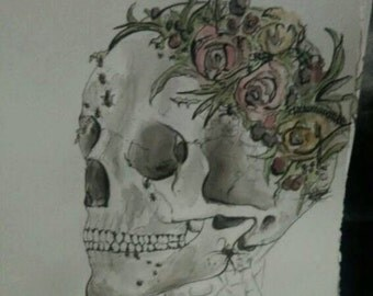 Custom Watercolor and Ink