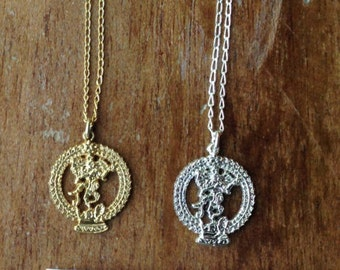 shiva nataraja necklace - necklace - yoga jewelry - meaningful jewelry