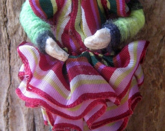 OOAK Mixed Media Art Doll, Margretta, Comfort Doll